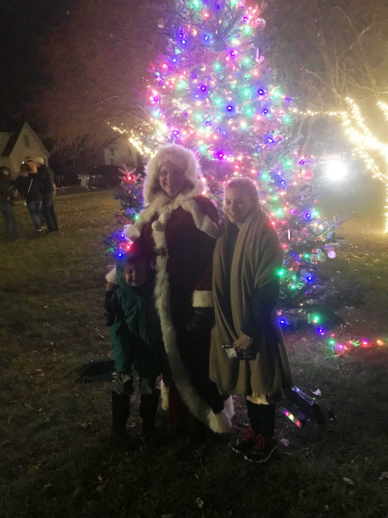 small town traditions in Johnson Creek, Wisconsin